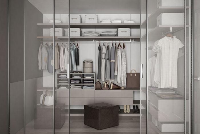 Inspired clothes doors design